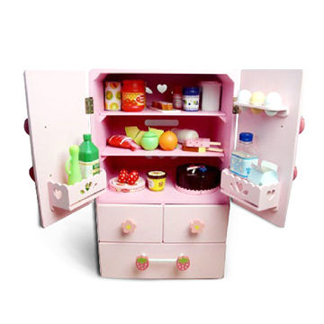 China Diy Toy Kitchen Cabinet Made Of Solid Wood Or Plywood Measures 40x39x65cm