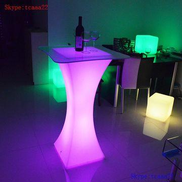 China Led Bar Table Acrylic Tables Light