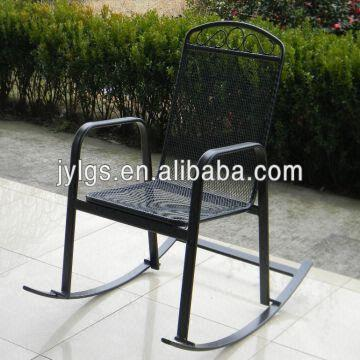 China Outdoor Garden Metal Mesh Rocking Chair