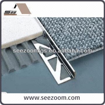 L Shape Aluminium Carpet Tile Trim Global Sources