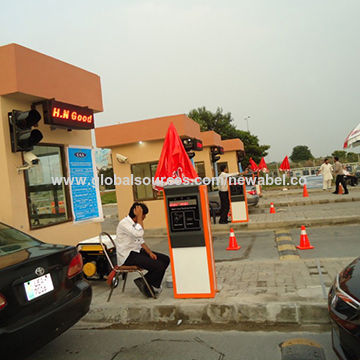 China Smart Car Parking System, RFID Card Barcode Ticket Entrance