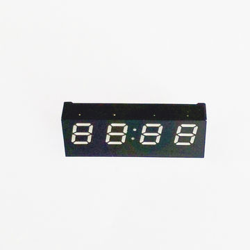 China Small 0.27-inch Blue LED 7-segment LED Digital Clock Display, Compliant with the RoHS Directive