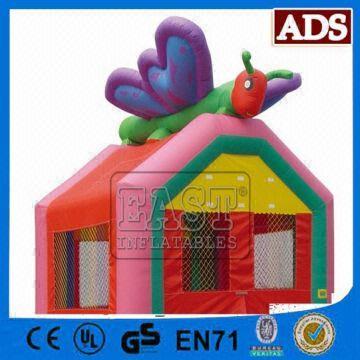 1 inflatable bee bouncer 2 waterproof and burn retardant 3 0