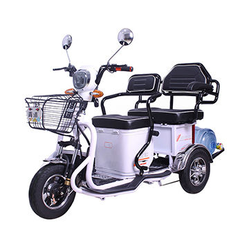 China Dragonfly 2 Pengers Electric Tricycle 600w 3 Wheel Bike Trike