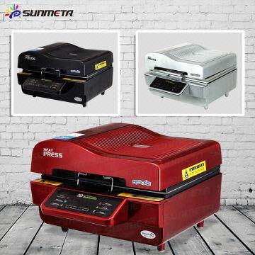 low price heat press machine new type 3D sublimation vacuum