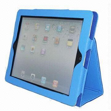 China Leather Cases for iPad, Customized Designs are Accepted