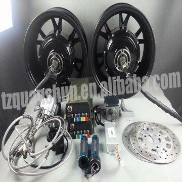 Dual 205 1kW Electric Car Hub Motor Kits 2kw Global Sources