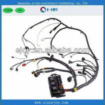 china ribbon cable engine wiring harness for car headlight ts16949  professional manufacturer zhejiang