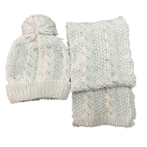 f1bcd254997 ... China Knitted 3pk winter beanie sets for kids