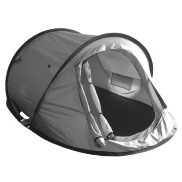 China Pop-up tent with double layer, silver coated seam taping, high waterproof