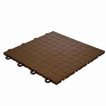 High Impact Polypropylene Interlocking Floor Tiles For Garage