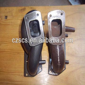 Vw Golf Mk4 Mk5 R32 Vr6 Vag V6 Twin T25 T28 Flange Cast Iron Turbo