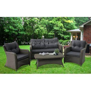 Outdoor Indoor Wicker Rattan Sofa Garden Furniture Set Global Sources