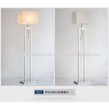 China modern stainless steel floor lamp from zhongshan manufacturer china modern stainless steel floor lamp china modern stainless steel floor lamp aloadofball Image collections