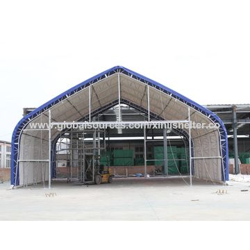 ... China 15m Double Truss Warplane Steel Structural Hangar aircraft tent air plane shade ...  sc 1 st  Qingdao Xinli Metal Products Co. Ltd - Global Sources & China 15m Double Truss Warplane Steel Structural Hangar from ...