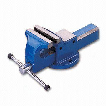 Forged Steel Bench Vise With Strong Clamping Force Global