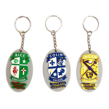 5b76e8a0b157c6 China Promotional gifts soft PVC keyring 2D 3D custom keychain for  advertising ...