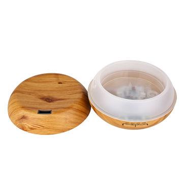 China Aickar 200mL Zen-ecology Style Wood Grain Oil Diffuser, AN-0429 Ultrasonic Cool Mist Diffusers
