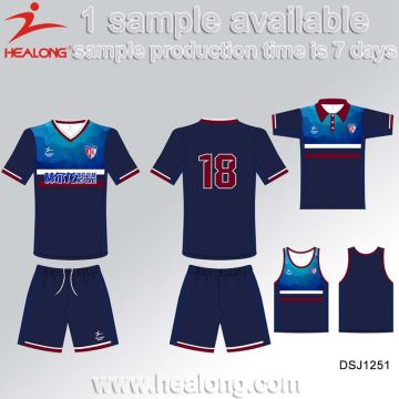 30a3e698171 China Healong Sportswear Customized Soccer Wear Sublimation Printing Soccer  Jersey