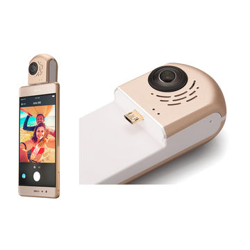 Android smart mobile phone 360-degree video camera with Linux 3.1 OS