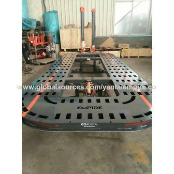 China Auto repair car frame straightening machine from Yantai ...