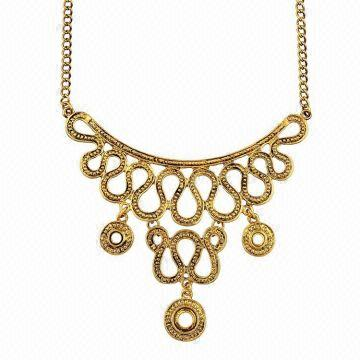 gold latest jewllers necklace arun south new model tussi jewels india