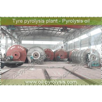 HUAYIN ISO&CE Plastic to Fuel oil Pyrolysis Plant 3-4Workers