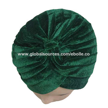 9a8bebbd09a China Velvet Turban from Yiwu Manufacturer  Ebolle Fashion ...
