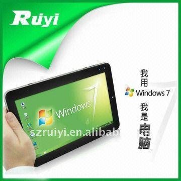 Christmas Hot Selling 10 Inch Tablet Pc Epad Win7 System Intel Atom