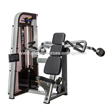 china shoulder press commercial gym equipment rectangular tube 58x101x3mm ergonomic design