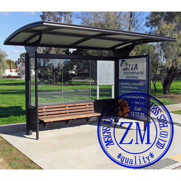 China Outdoor Bus Stop Motorcycle Shelter Canopy Advertising Bus Station Manufacturer Bus Shelter & Outdoor Bus Stop Motorcycle Shelter Canopy Advertising Bus Station ...
