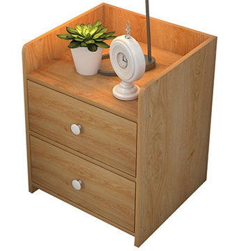 China High Quality Bedside Table Modern Solid Wood Nightstand In Bedroom Side