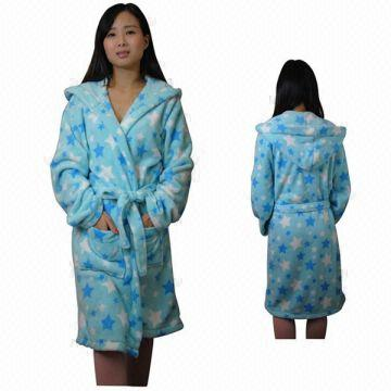 197e8df987 ... China Custom Printed Robes 1.100% Polyester 2.Thick softer comfortable  Fluffy 3.BSCI