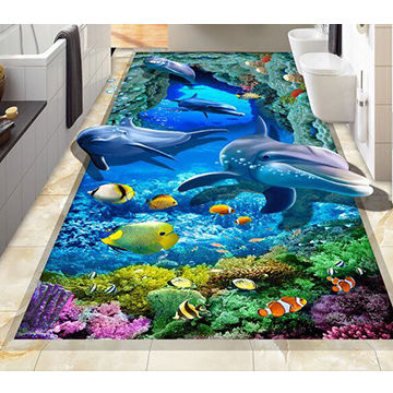 3D Personalized Vinyl Flooring China