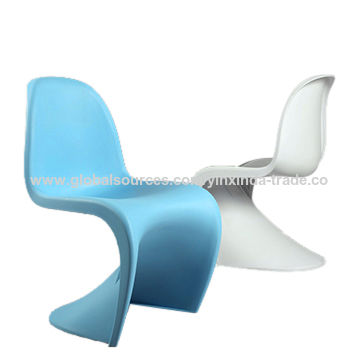 China S Shape Chair New Style Dining Plastic Chairs