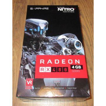 Sapphire Radeon RX 480 4GB Nitro+ OC AMD
