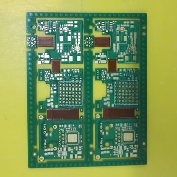 China 8-layer rigid-flex PCB with ENIG surface finish on Global Sources