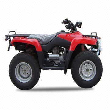 400cc atv with maximum speed of 95kph and ground clearance of 210mm