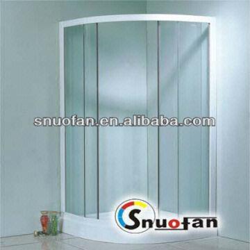 Plastic-spray Frame Glass Shower Enclosure Sw-8301 | Global Sources