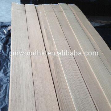 Quarter Cut American Red Oak Veneer With Good Quality