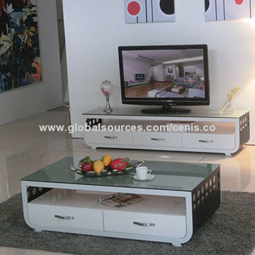 Topnotch Tv Cabinet And Tea Table Set Coffee Table Size130x70x45cm
