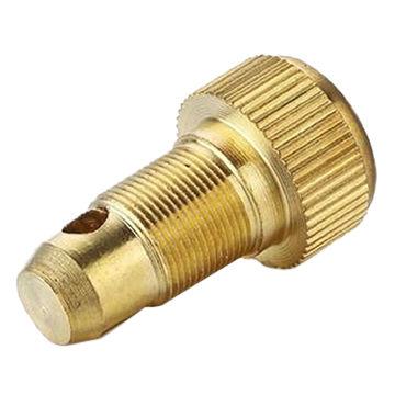 3fa35d4f8 China Piezas mecánicas de cobre amarillo de torno del torno del CNC, piezas  de torneado ...