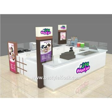 Cell Phone Display Counter Design For Mobile Phone Shop Decoration
