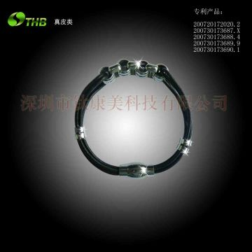 China Energy Bracelet Fashion Jewelry Leather Engraving Machine
