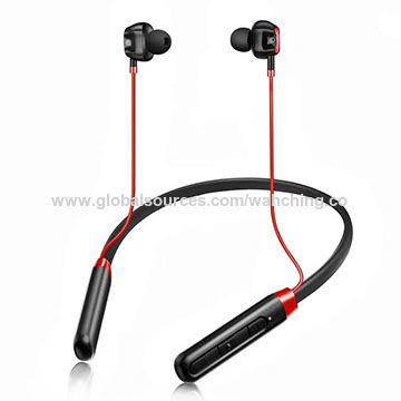 631890a9cb1 China Neckband switch bt sweatproof hot sale mini usb neck band bluetooth  aluminum earphone case