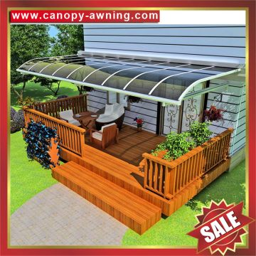 Super Durable Aluminum Alloy Pc Polycarbonate House Patio Awning