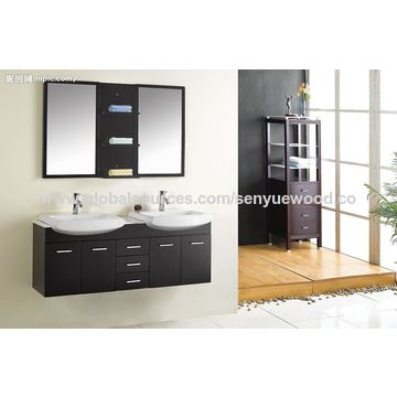 China Good Price Bathroom Vanity Single Made In