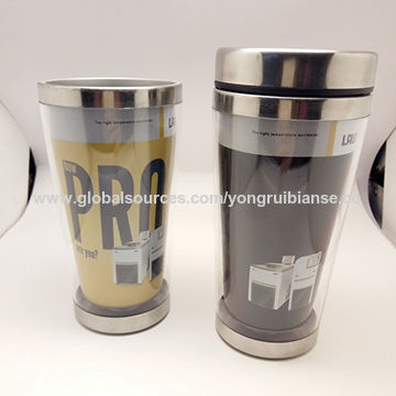 China Custom Heat Sensitive Color Changing Stainless Steel Travel Mug