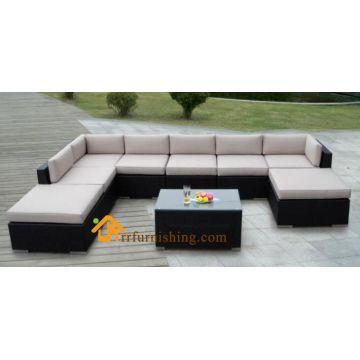 China Wicker Outdoor Furniture Rattan Corner Sofa Furnit