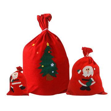 China China wholesale Christmas gift bag for Christmas decoration Cute Merry Christmas Bags ...